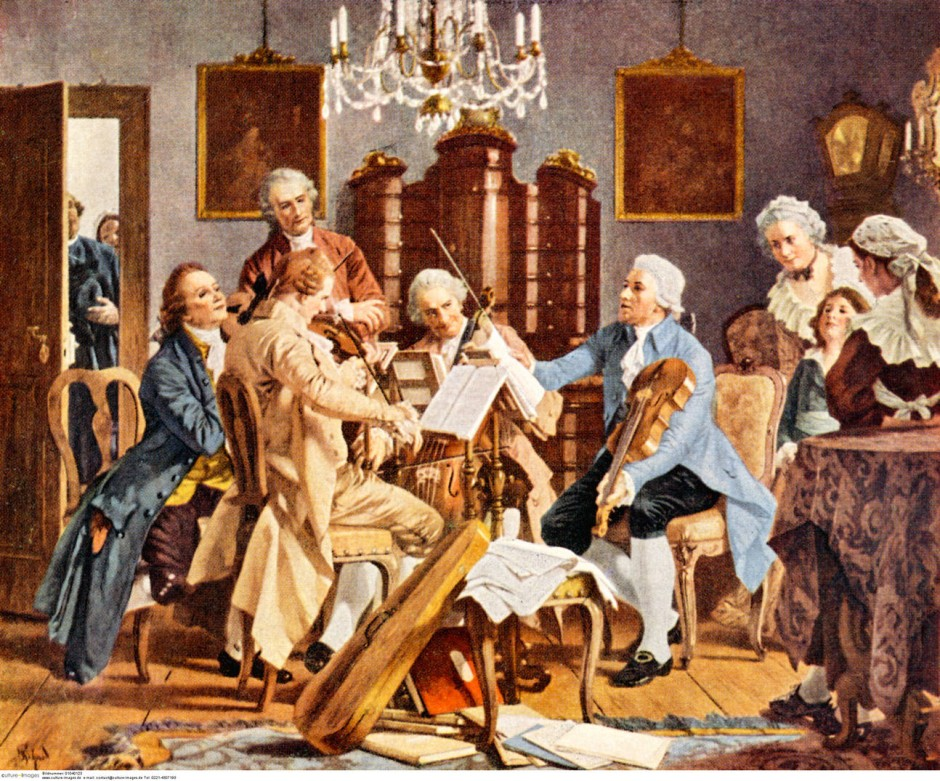baroque orchestra painting - photo #10