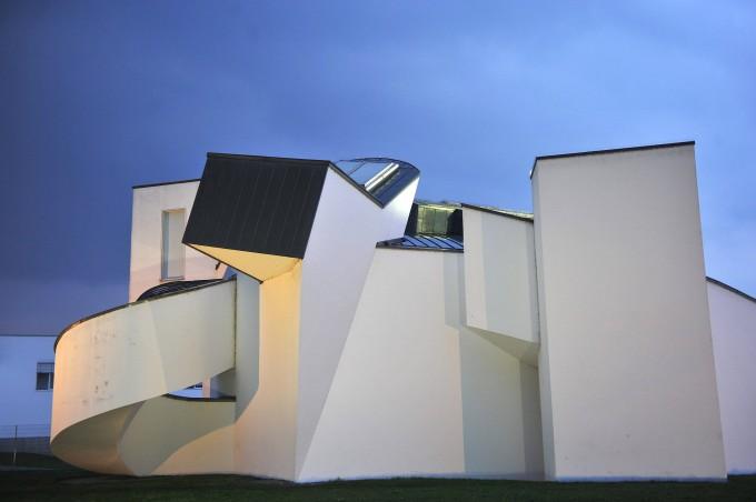 Die dekonstruierte Schachtel: Vitra Design-Museum in Weil am Rhein.