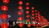 Neue Zeit, alter Brauch: In China wird das Laternenfest gefeiert. Das Jahr des Tigers hat begonnen.