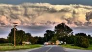 Was die Landschaft an Dramatik vermissen lässt, gibt einem der Himmel über Missouri hundertfach zurück.