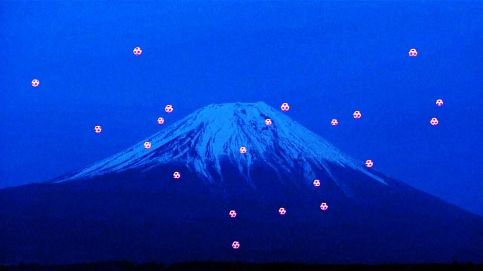 Drohnen-Ballett am Mt. Fuji