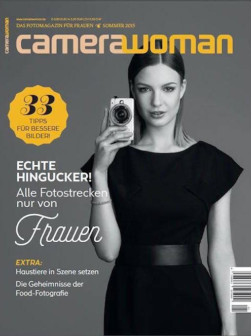 """In sechzigtausend Exemplaren seit Dienstag am Kiosk: das neue Magazin """"Camerawoman""""."""