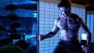 """Das schaut gefährlich aus: Hugh Jackman als Logan im neuen Action-Film """"Logan - The Wolverine""""."""