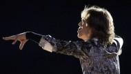 Mick Jagger am 26. Mai in Bærum südlich von Oslo