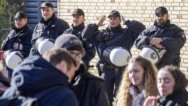 Notfalls mit der Polizei