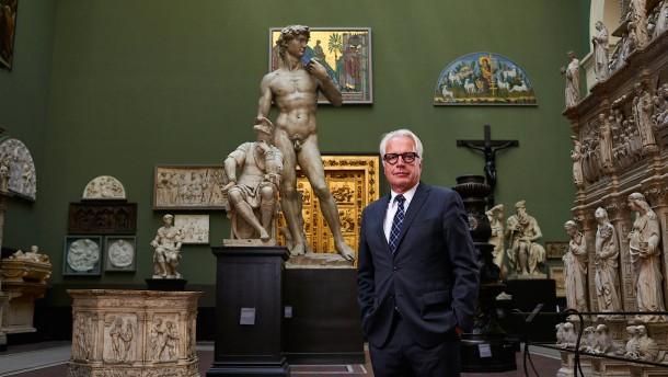 Er erfand das Museum neu