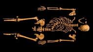 Von zartem Wuchs: die Überreste Richard III.