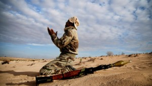 Wenn Gaddafi mit blutiger Rache droht