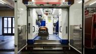 Wenn es auf schnelle Hilfe ankommt: Spezial-Rettungswagen für Schlaganfall-Patienten.