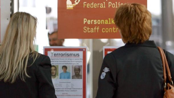 Haftbefehl gegen Terrorverdächtige erlassen