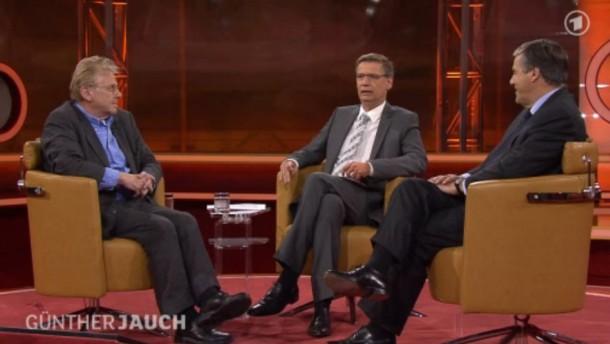 Günther Jauch, Cohn-Bendit, Ackermann