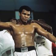 Eine von vier Ikonen für Christian McBride: Muhammad Ali, hier 1976 in München