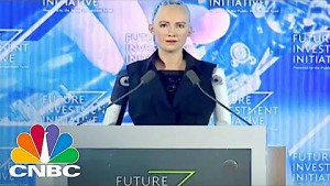 Interview mit Roboter Sophia