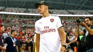 Mesut Özil: Sein Spiel ist, analytisch betrachtet, seinen öffentlichen Auftritten nicht unähnlich.