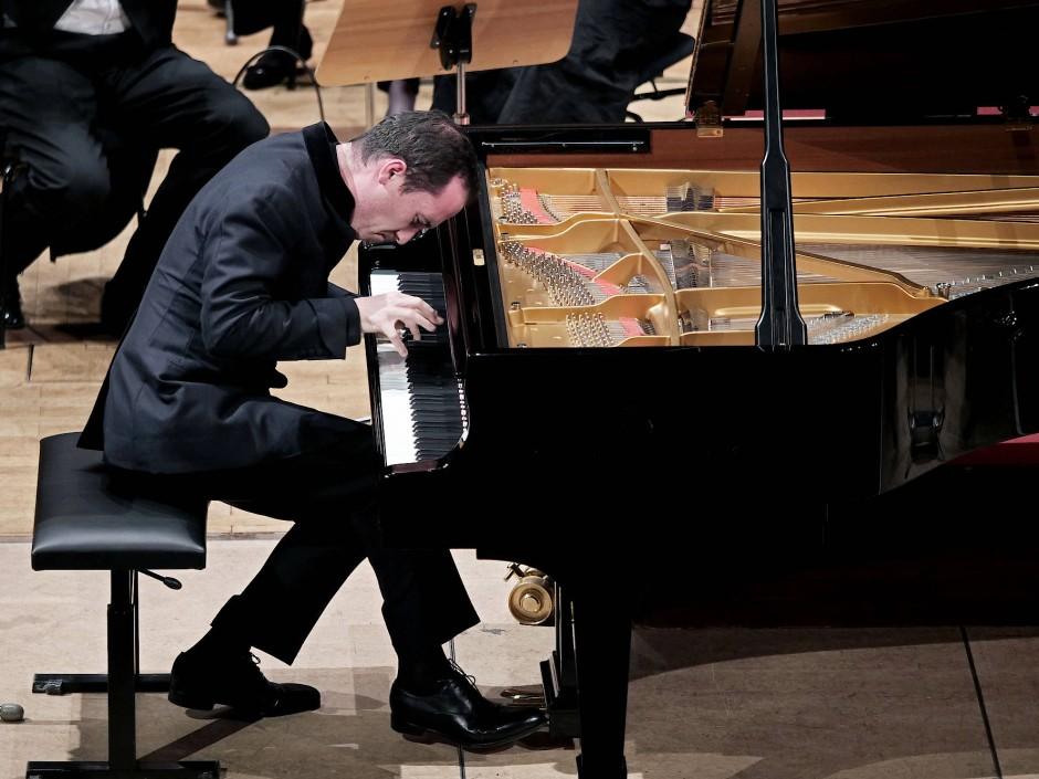 Igor Levit am Samstag bei einem Auftritt in Heidelberg