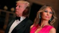 Donald und Melania Trump bei der Rotkreuz-Gala in Palm Beach