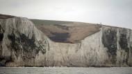 Die Klippen von Dover - noch ohne Mauer
