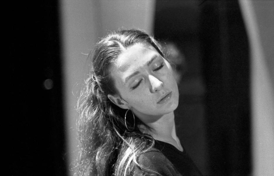 In den siebziger Jahren bei Theaterproben in Hamburg