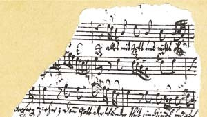 Bach-Komposition in Weimar entdeckt