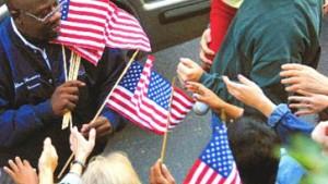 New York sucht Kraft und Trost bei den Stars and Stripes