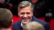 Froh, wieder in Berlin zu sein: George Clooney