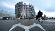Will den Ausschluss der Bildung aus den TTIP-Verhandlungen festschreiben: Das Europäische Parlament in Straßburg