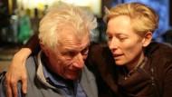 Eines von vier Porträts: Schauspielerin Tilda Swinton hat John Berger im Winter im Bergdorf Quincy aufgesucht.