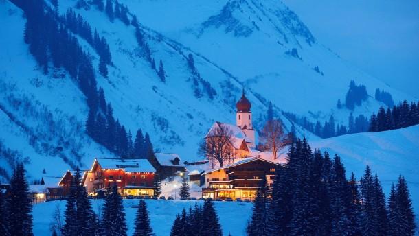 Im schneereichsten Dorf der Welt