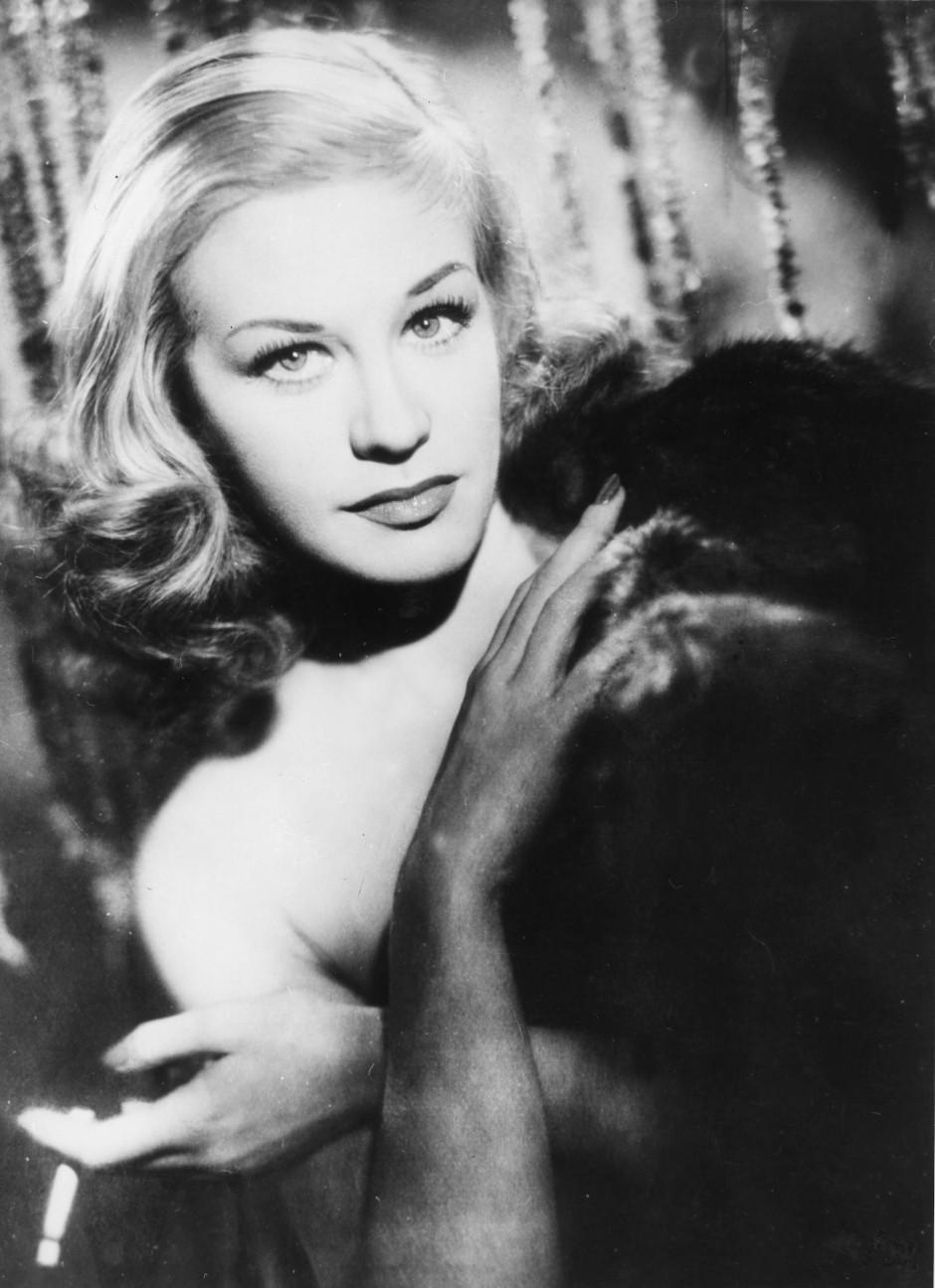 """Tausende demonstrierten 1951 für ein Verbot dieses Films: Hildegard Knef in Willi Forsts """"Die Sünderin""""."""