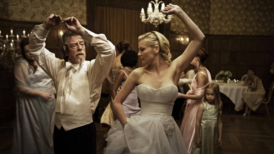 """2011 mit Kirsten Dunst in Lars von Triers """"Melancholia"""""""