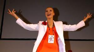 Lettland tanzt nach dem Sieg von Marija Naumova