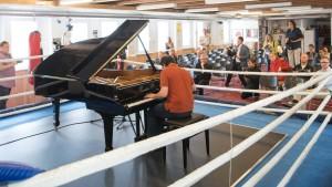Telemann in der Großküche, Beethoven im Boxring