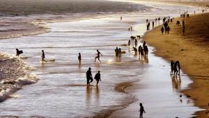 Die praktizierte Anarchie der Menschen am Strand
