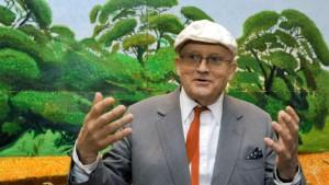 Sehen Sie England vor lauter Bäumen, Mr Hockney?