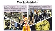 Reden konnte sie wie ein Abgeordneter - und schon seit 1919, als die deutschen Frauen das aktive und passive Wahlrecht erhielten, auch als Abgeordnete. Marie-Elisabeth Lüders betrieb Sozialpolitik. Sogar die FDP wollte einmal so modern sein.