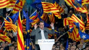 Die Katalanische Frage spaltet das Land
