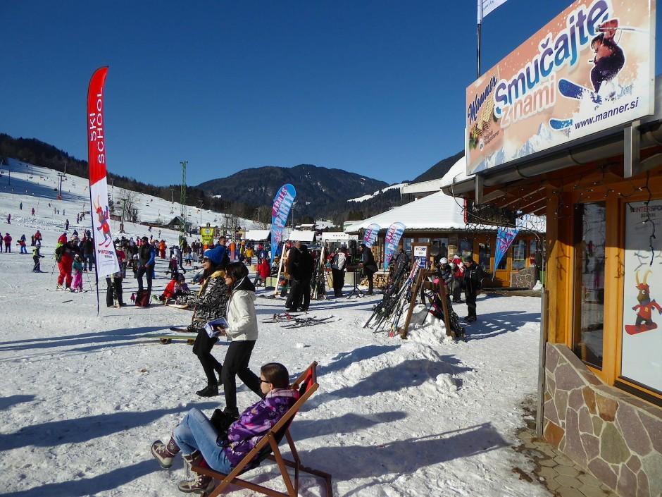 Ob Melania Trump Skifahren kann, will in Kranjska Gora, dem besten Skigebiet des Landes, niemand wissen.
