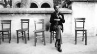 Tee trinken im Exil: Baldwin in Istanbul.