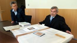 Kunsthändler verliert Prozess um angebliches Uecker-Werk