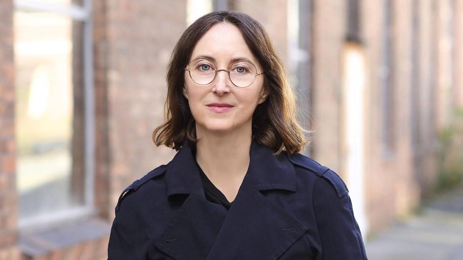 Die Künstlerin Maria Eichhorn.