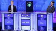 """Mensch gegen Maschine: Die Quizshow """"Jeopardy!"""" hat Watson berühmt gemacht."""