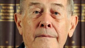 Der Historiker Eberhard Jäckel ist gestorben
