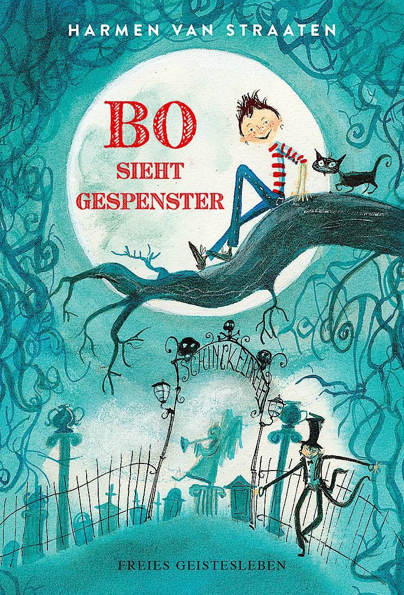 """Lustiges Verwirrspiel: """"Bo sieht Gespenster"""" von Harmen van Straaten ist für 14 Euro erhältlich."""