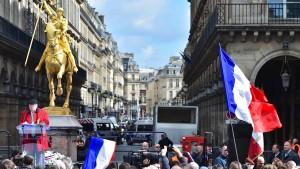 Die große Nation vergisst Jeanne d'Arc
