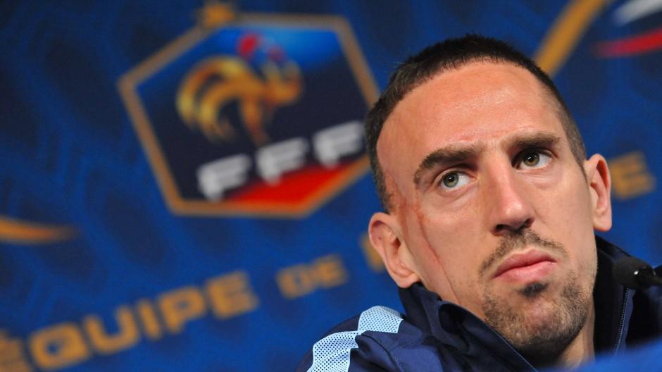 Liebt das Schöne und Wa(h)re: Franck Ribéry.