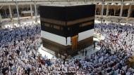 Millionen Muslime pilgern nach Mekka