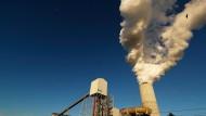 Ein Kohlekraftwerk von Duke Energy in North Carolina