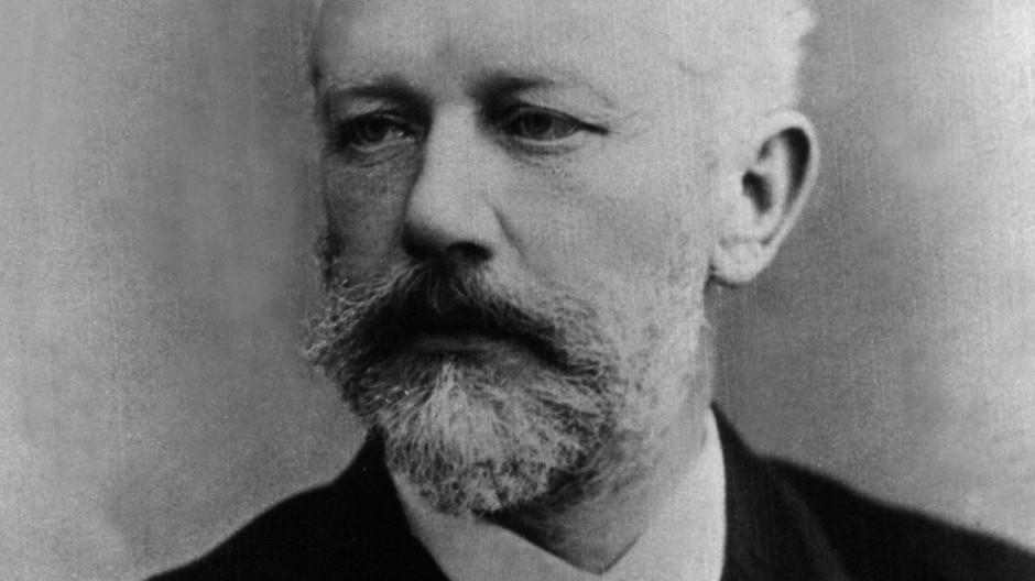 Peter Tschaikowsky (1840-1893), Fotografie aus den späten Lebensjahren.