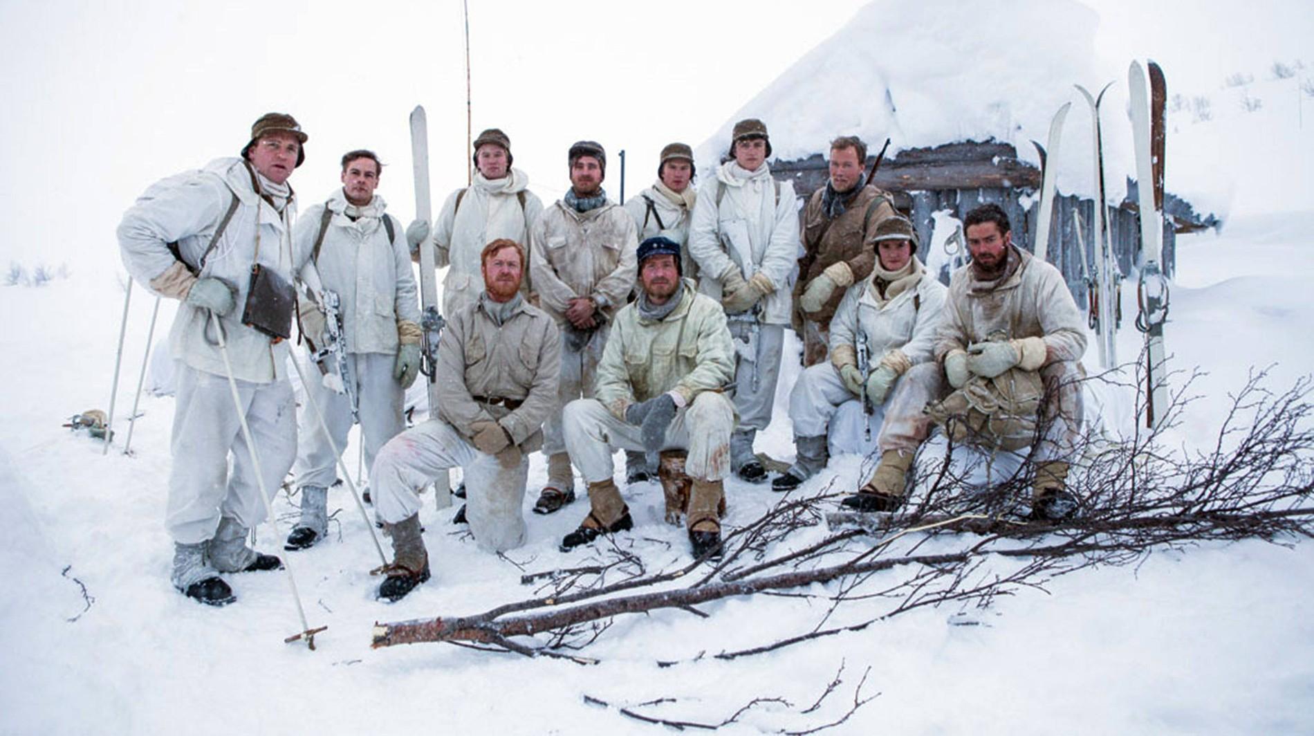 Norwegische Serie Saboteure Im Eis Zum Schweren Wasser