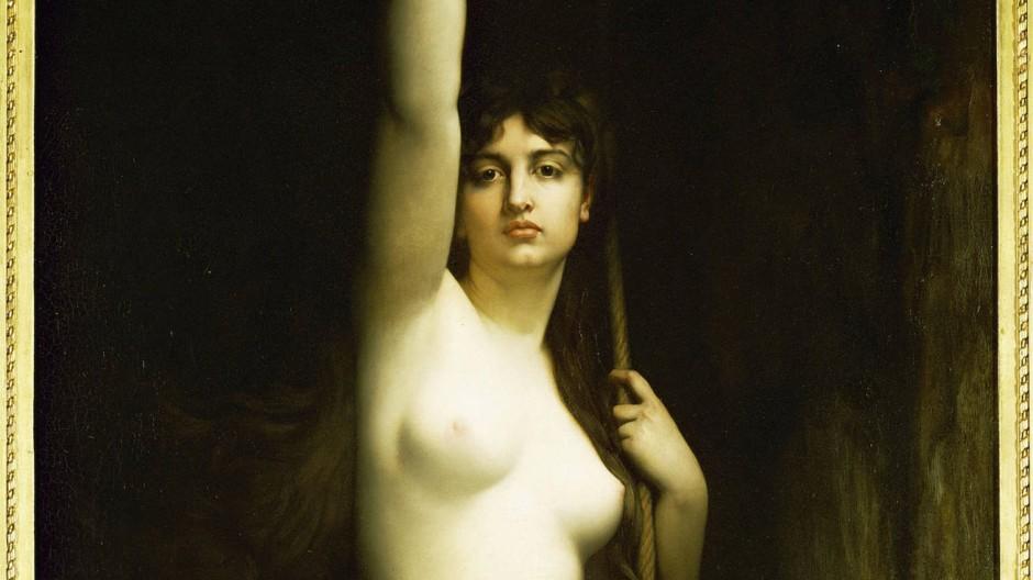 """Erleuchtend nackt: Jules Lefebvre """"Die Wahrheit"""", von 1870"""
